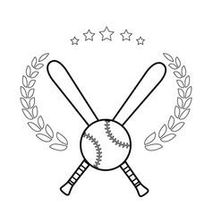 sports elements design vector image