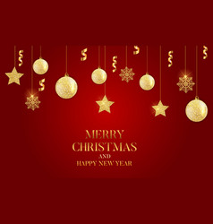 Abstract holiday new year and merry christmas vector