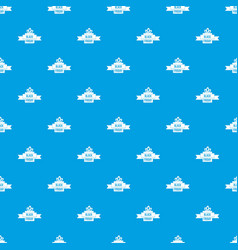 Black friday ribbon pattern seamless blue vector