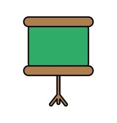 Chalkboard icon image vector