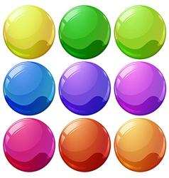 Colorful balls vector