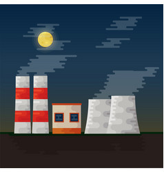 Electricity station vector
