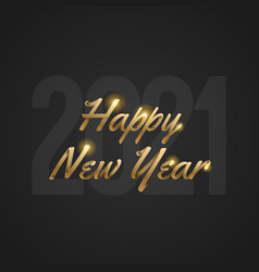 happy new year 2021 and merry christmas vector image