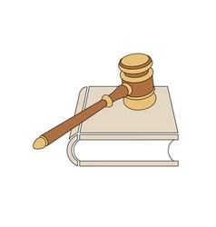 Judges-hammer vector