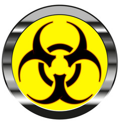 radioactive sign vector image