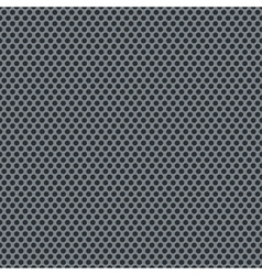 Silver metallic grid pattern vector image
