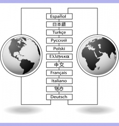 World language vector