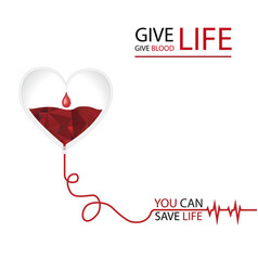 you can save a life vector image