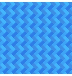 Blue geometric rectangle seamless background vector image vector image