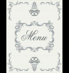 menu4 vector image vector image