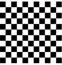 Black and white checkered background vector