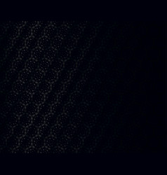 black polygonal geometric background vector image