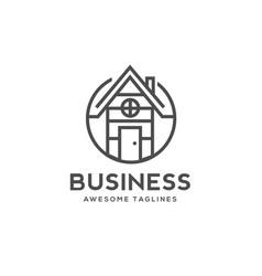 Home building logo vector