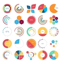 Infographics collection of design elements vector