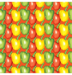 peppers pattern vector image