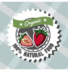Natural Food 4 vector image