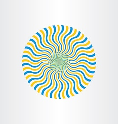 Abstract background optical vector