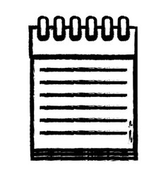figure notebook papers object design to write vector image