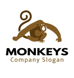 Monkeys Design vector