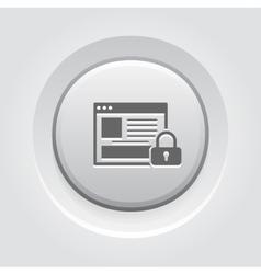 Online Security Icon vector