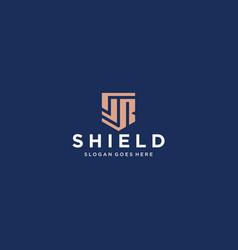 Sr shield logo vector