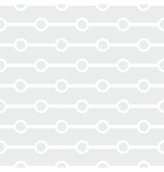 Tile white and grey pattern or seamless wallpaper vector