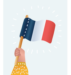 vive la france greeting card vector image