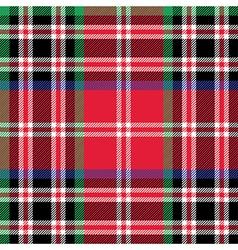 Kemp tartan fabric textile check pattern seamless vector image vector image