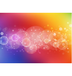 abstract colorful color blurred background with vector image