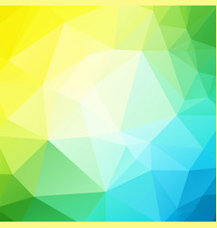 Blue yellow green background vector