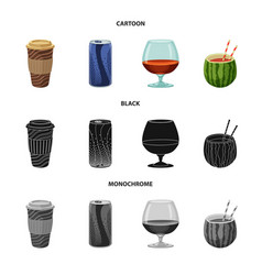 Drink and bar icon vector