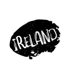 Ireland rubber stamp vector