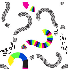 question marks seamless pattern or interrogation vector image