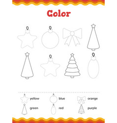 toddler education games preschool or vector image