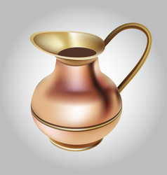 coffee pot vector image vector image