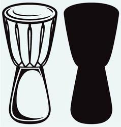 African drum vector image vector image