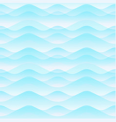 air wave seamless pattern vector image