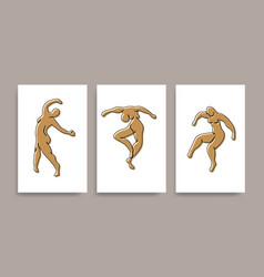 Contemporary henri matisse abstract art vector