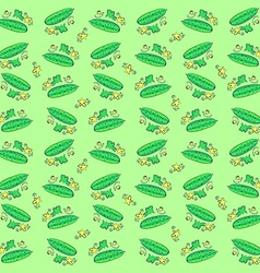 Cucumbers vector image