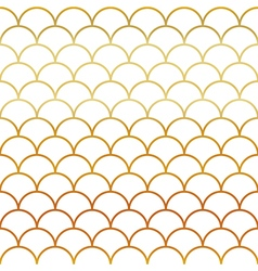 Fish Gold Scales Seamless Pattern vector