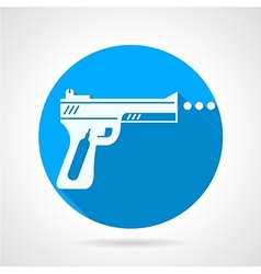Flat icon for airgun vector