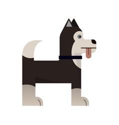 Husky is stand vector