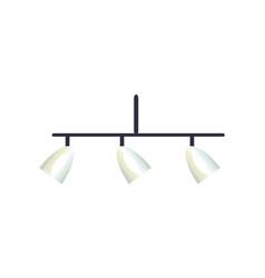 Interior design chandelier vector