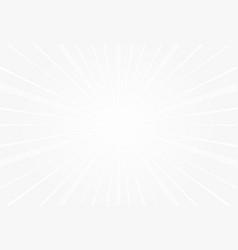popular white ray sun light star burst background vector image