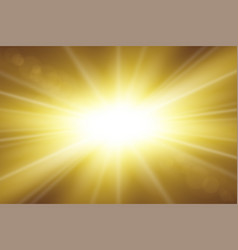 Sun rays starburst bright effect isolated on vector