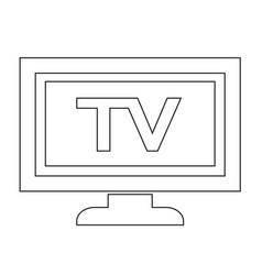Tv icon design vector