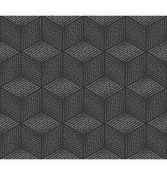 Seamless background design consisting of cubes vector