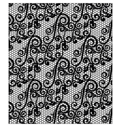 Lace ornament texture pattern vector image vector image