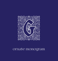Monogram g vector