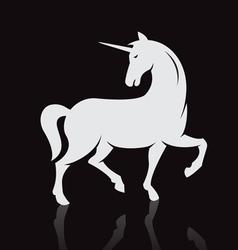 unicorns vector image